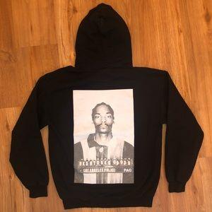 Snoop Dogg Mugshot Hoodie Pullover Sweatshirt Rap
